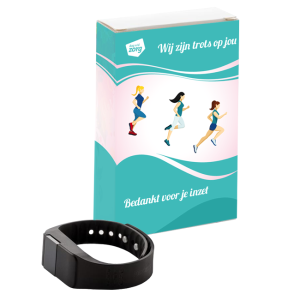 Activity tracker Keep fit met wikkel op maat