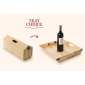 Rackpack Tray Chique Fun Wine Box