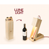 Rackpack Wine Light Fun Wine Box